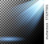 spotlight effect. vector... | Shutterstock .eps vector #573297001