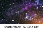 high definition star field... | Shutterstock . vector #573315139