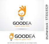 good idea logo template design... | Shutterstock .eps vector #573315529