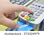 credit card payment  buy and... | Shutterstock . vector #573324979