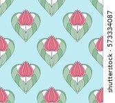 Decorative Seamless Pattern Of...