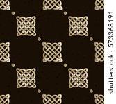 celtic knot seamless pattern | Shutterstock .eps vector #573368191