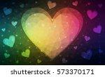dark green  yellow  pink vector ... | Shutterstock .eps vector #573370171