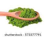 Small photo of Wolffia globosa or Fresh water Alga, Water Meal, Swamp Algae.