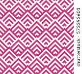 pattern stripe seamless pink... | Shutterstock .eps vector #573393601