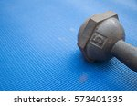 Iron Dumbbell 5 Kilograms On...