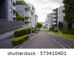 tall apartment block in sydney  ... | Shutterstock . vector #573410401