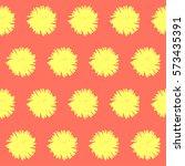 abstract doodle. handmade... | Shutterstock . vector #573435391