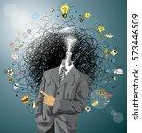 idea concept. vector business...   Shutterstock .eps vector #573446509
