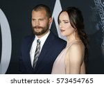 Jamie Dornan And Dakota Johnso...