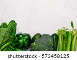 food background of fresh green... | Shutterstock . vector #573458125