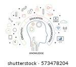 vector illustration concept of... | Shutterstock .eps vector #573478204