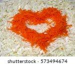 unusual vegetable background... | Shutterstock . vector #573494674