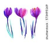Cute Watercolor Flower...