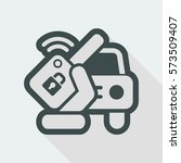 car remote key | Shutterstock .eps vector #573509407