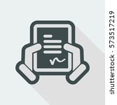 document signature icon | Shutterstock .eps vector #573517219