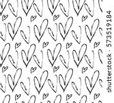seamless pattern with cute... | Shutterstock .eps vector #573519184