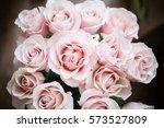 pink bouquet | Shutterstock . vector #573527809