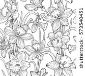 Daffodils Narcissus Dense...