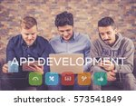 app development icon concept
