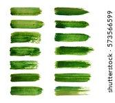 green labels. ecology vector...   Shutterstock .eps vector #573566599