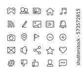 web  social network  social... | Shutterstock .eps vector #573572815