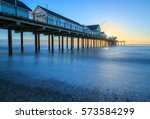 uk  suffolk  southwold  pier....