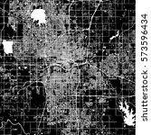 oklahoma city vector map ... | Shutterstock .eps vector #573596434