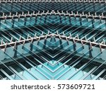 reworked photo of contemporary... | Shutterstock . vector #573609721