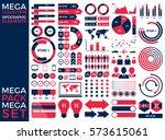 mega collection and mega set... | Shutterstock .eps vector #573615061