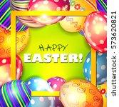 easter. | Shutterstock .eps vector #573620821