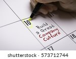 build a great company culture | Shutterstock . vector #573712744