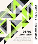 poster  flyer  brochure  cover... | Shutterstock .eps vector #573712855