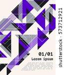 poster  flyer  brochure  cover... | Shutterstock .eps vector #573712921
