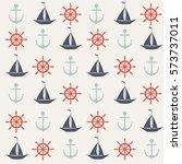 seamless vector pattern of... | Shutterstock .eps vector #573737011