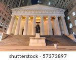 Federal Hall At Night  The...