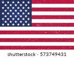 background american flag  usa . | Shutterstock .eps vector #573749431