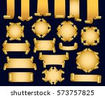 set of banners | Shutterstock .eps vector #573757825