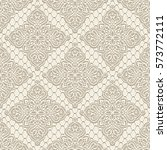 vintage lace background ... | Shutterstock .eps vector #573772111