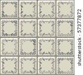 seamless white tiles texture... | Shutterstock . vector #57377872