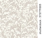 seamless  floral pattern in...   Shutterstock .eps vector #573779305