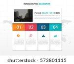 business folder infographics... | Shutterstock .eps vector #573801115