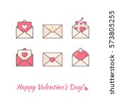 Envelopes With Hearts Inside....