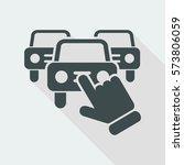 car selection icon | Shutterstock .eps vector #573806059