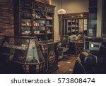 professional barber shop...   Shutterstock . vector #573808474