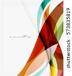 business wave corporate... | Shutterstock .eps vector #573835819
