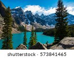 Beautiful Moraine Lake Near...