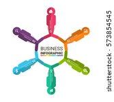 infographic element design. | Shutterstock .eps vector #573854545
