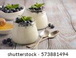 Natural Homemade Yogurt With...