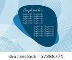 blue abstract background | Shutterstock .eps vector #57388771